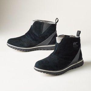 Sorel Cozy Short Waterproof Black Boot